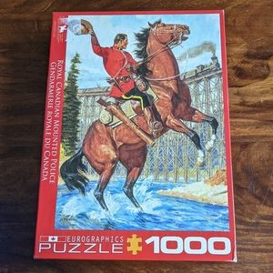 Eurographics Canadian mountie police 1000 puzzle